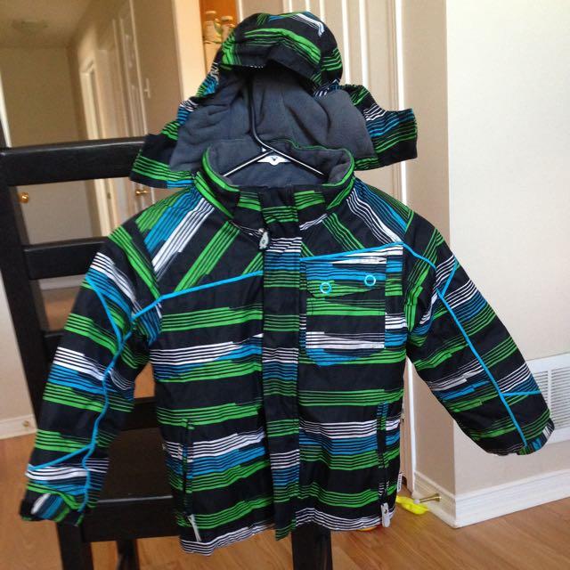 4T Boy Eritel Winter Jacket