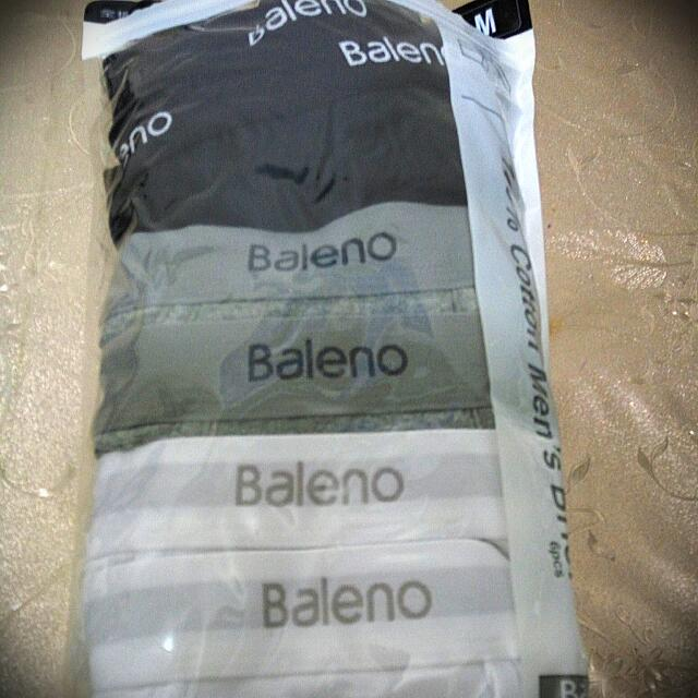 賣全新6條baleno 男裝内褲