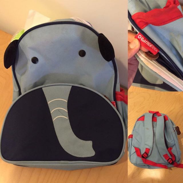 大象小孩背包