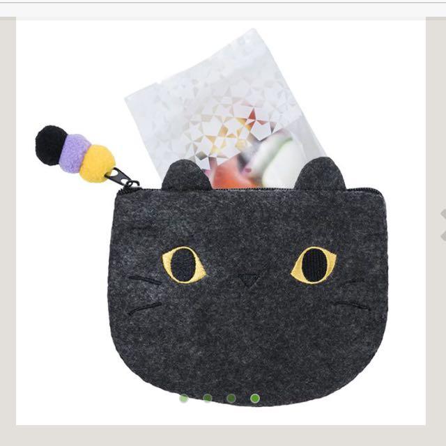 星巴克 萬聖節 黑貓 水果軟糖 交換禮物