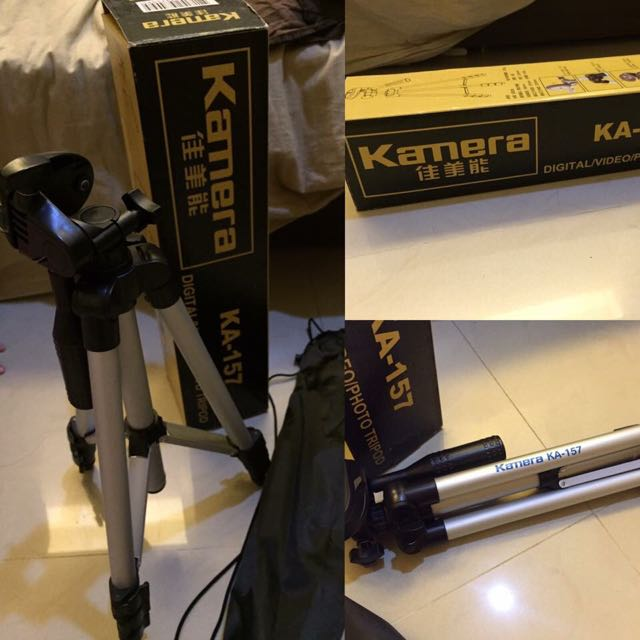 佳美能 KA-157 輕便型 三腳架