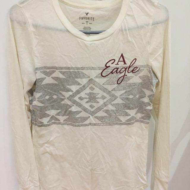 American Eagle Full Sleeve Soft Tshirt