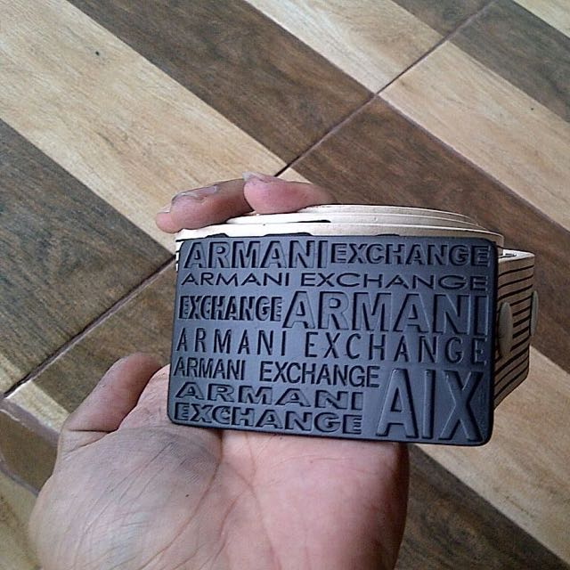 Armani Exchange Belt Striping