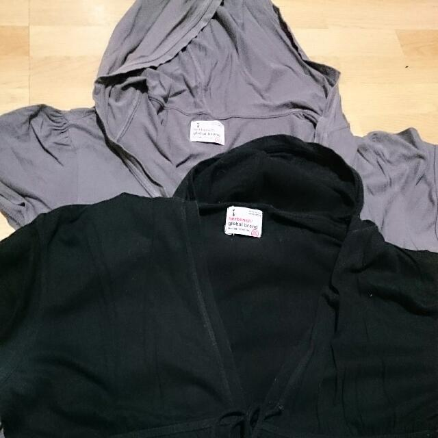 Assorted Blouse with Hoodie