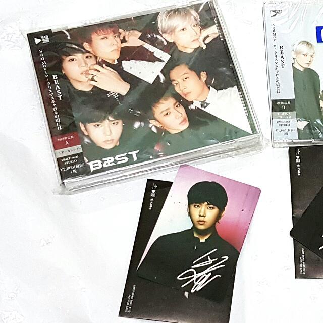 BEAST Sad Movie Japan Album Ver.A (CD+Photo Calendar)