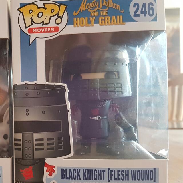 Black Knight [Flesh Wound] Pop Vinyl