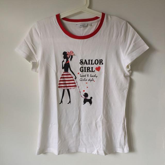 Bossini Shirt Sailor Girl