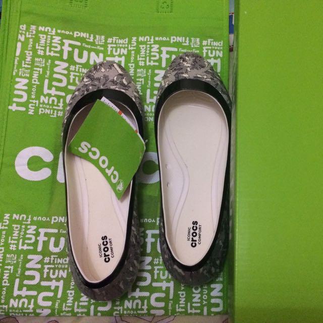 Crocs Lina Shiny Flat (New Edition)