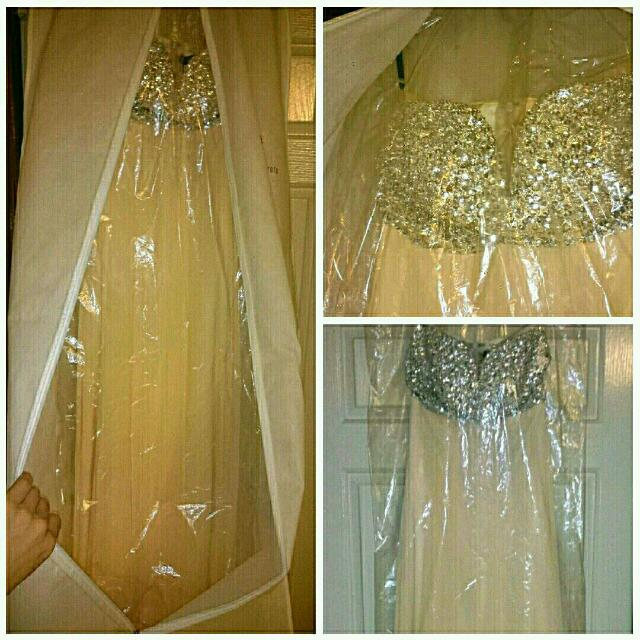 Sequence Cream Formal dress BNWT RRP $600
