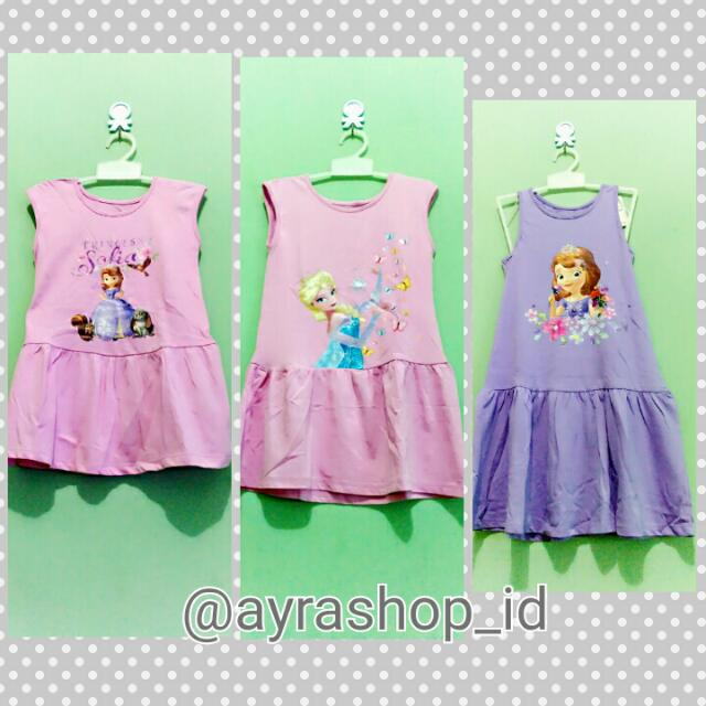 Dress Anak Karakter