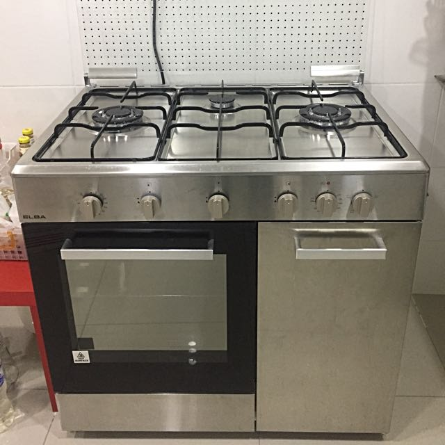 Elba Freestanding Gas Cooker Electric Oven Kitchen Liances On Carou
