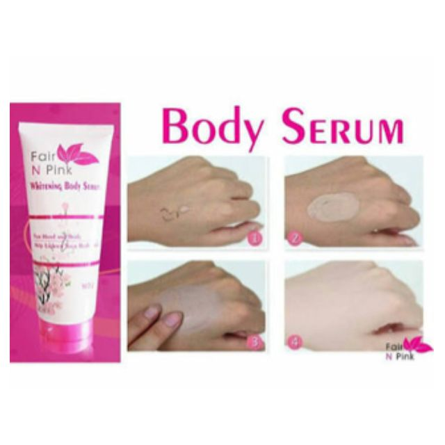 FAIR N PINK Serum badan BPOM 160 ml ( fair pink body serum )