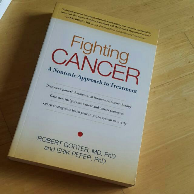 New Book Fighting Cancer