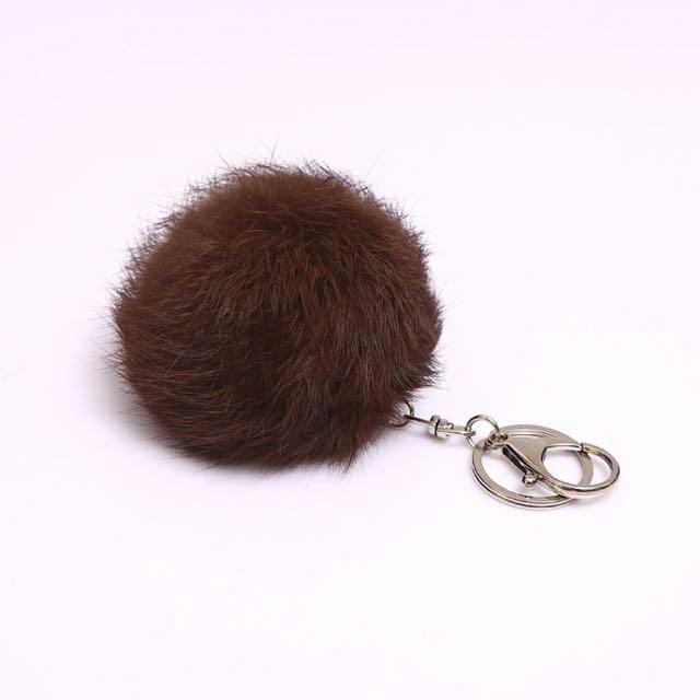 Fur Pompom Charm