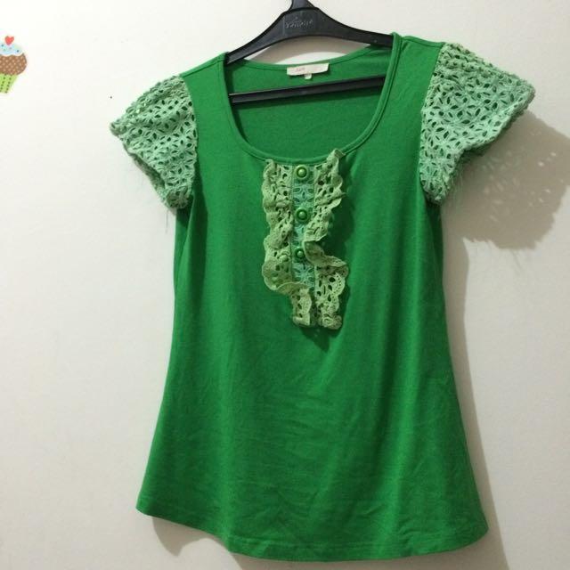 Green Tshirt JLO
