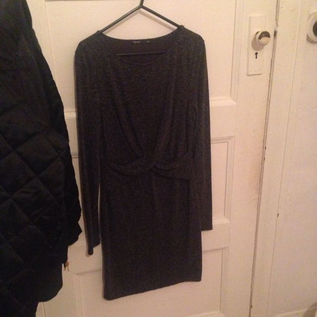 Grey Winter Dress