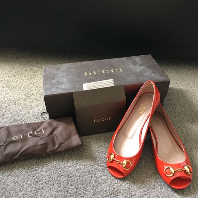 Gucci Shoes Size 34 1/2