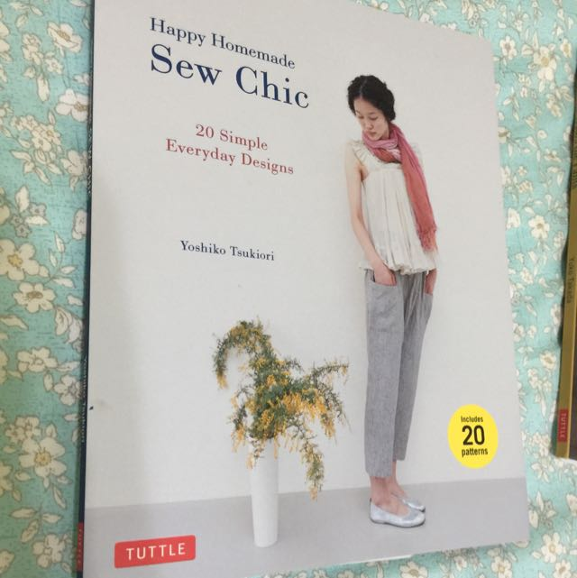 Happy Homemade Sew Chic, Books & Stationery, Fiction on Carousell