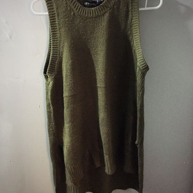 High Low Sweater Large