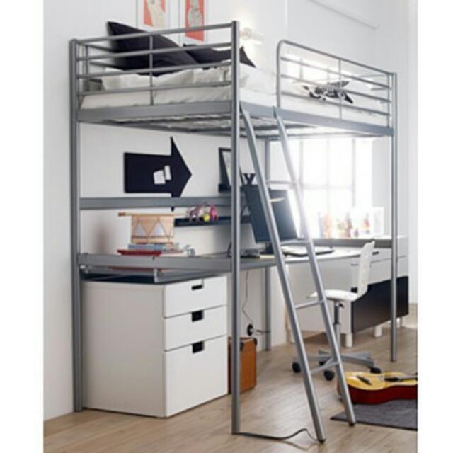IKEA雙層單人床架 誠可議