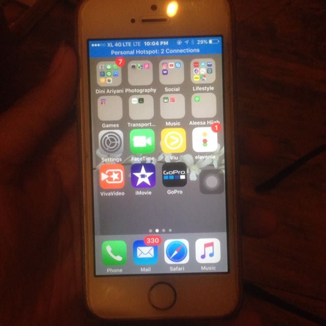 iPhone 5S Gold Jual Cepet