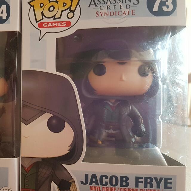 Jacob Frye Pop Vinyl