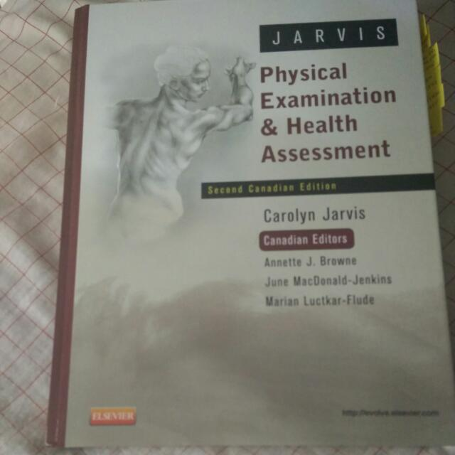 Jarvis Physical Examination & Health Assessment 2e