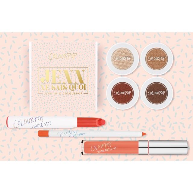 JENNIM X COLOURPOP DOHEE SET