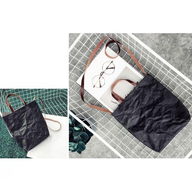 Kraft Bag Black