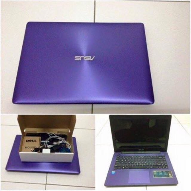 laptop asus purple electronics computers on carousell