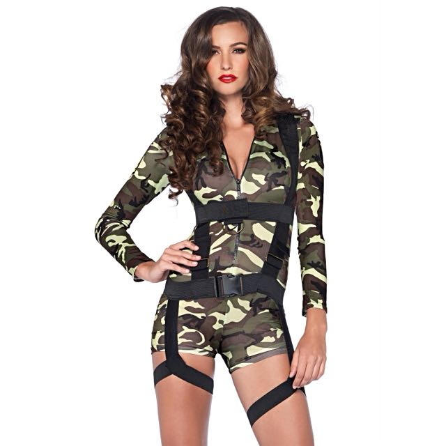 Leg Avenue Goin' Commando Army Costume