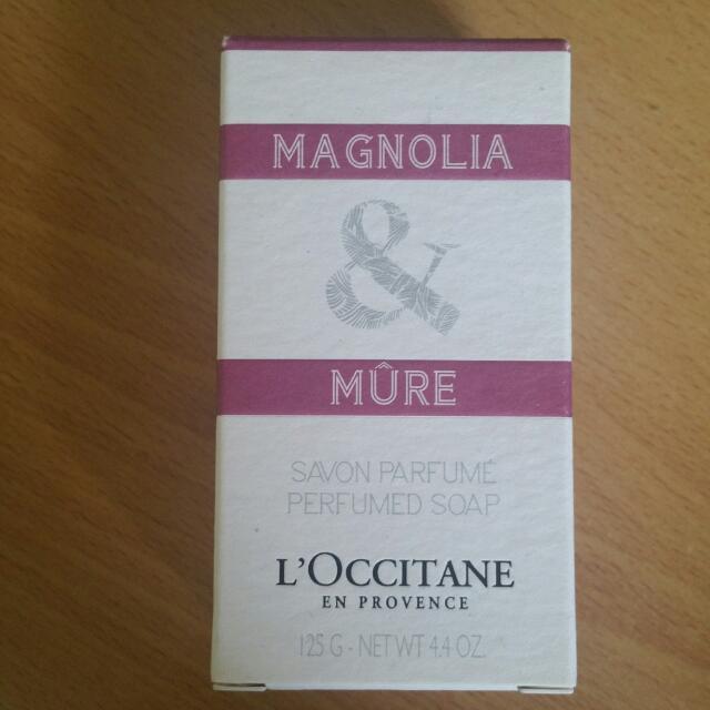 Loccitane Savon Parfume Perfumed Soap Magnolia & Mure