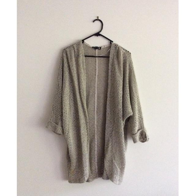 Loose fit cardigan size L