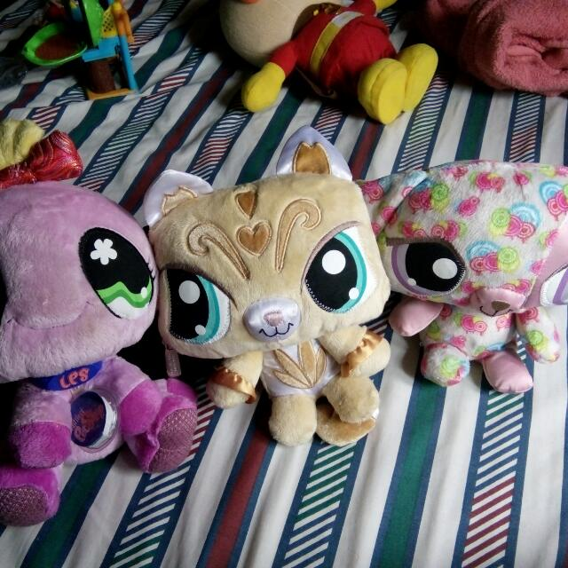 Lps Plush Stuff Toy