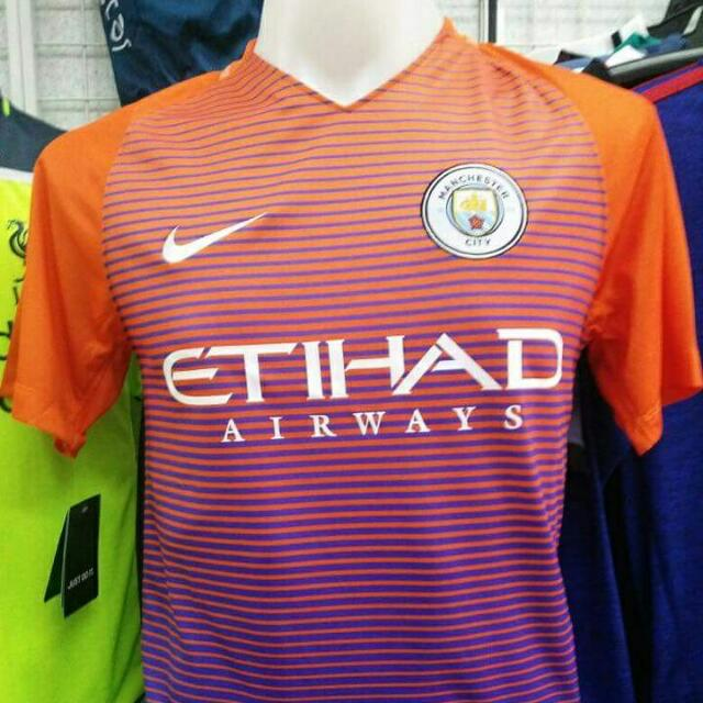 promo code 7bf1d 50128 Manchester City Third Kit 16 /17