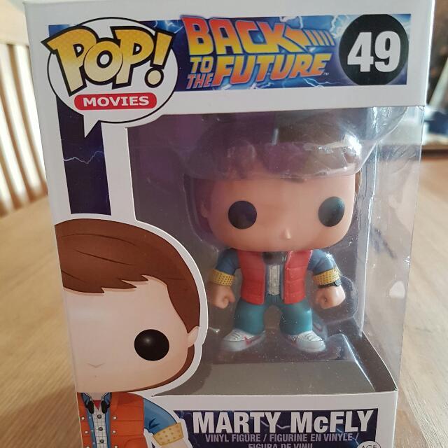 Marty McFly Pop Vinyl