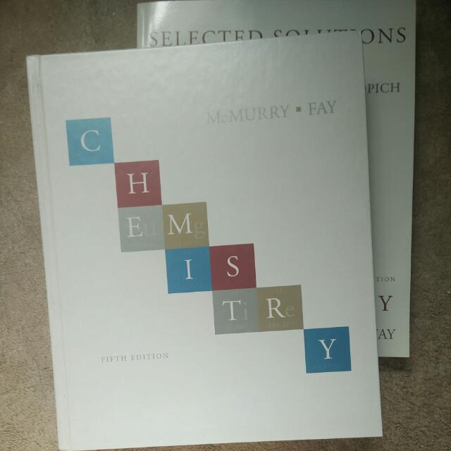 McMurray Fay Chemistry with Selected Solutions Manual 5e