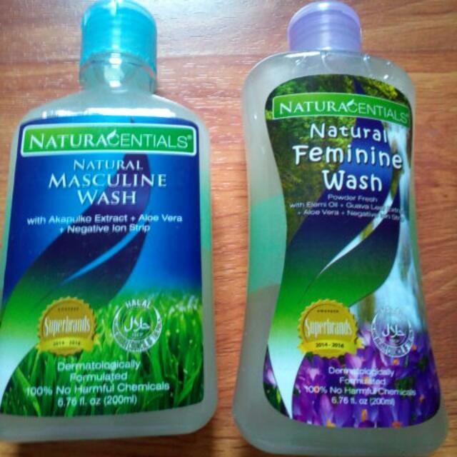 NaturaCentials Natural Feminine/Masculine Wash