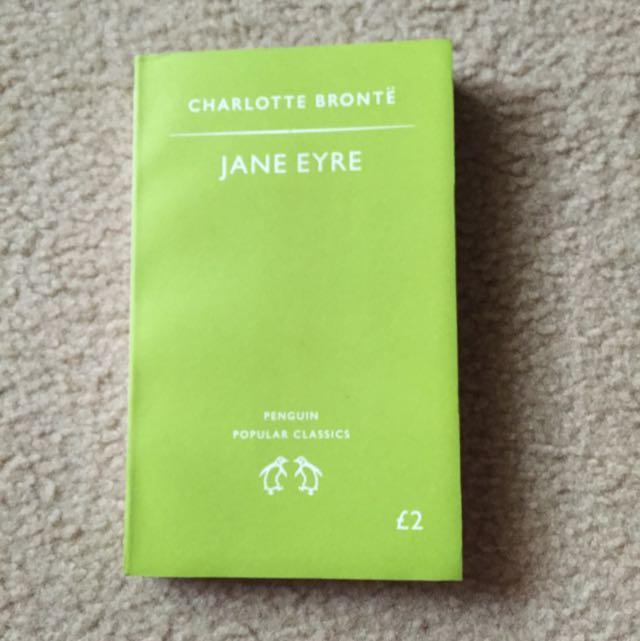 Novel Jane Eyre - Charlotte Brontë (Eng)