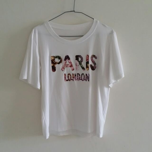 PARIS  白色上衣