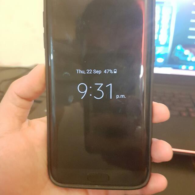 Perfect Condition Samsung Galaxy S7 Edge Black Onyx