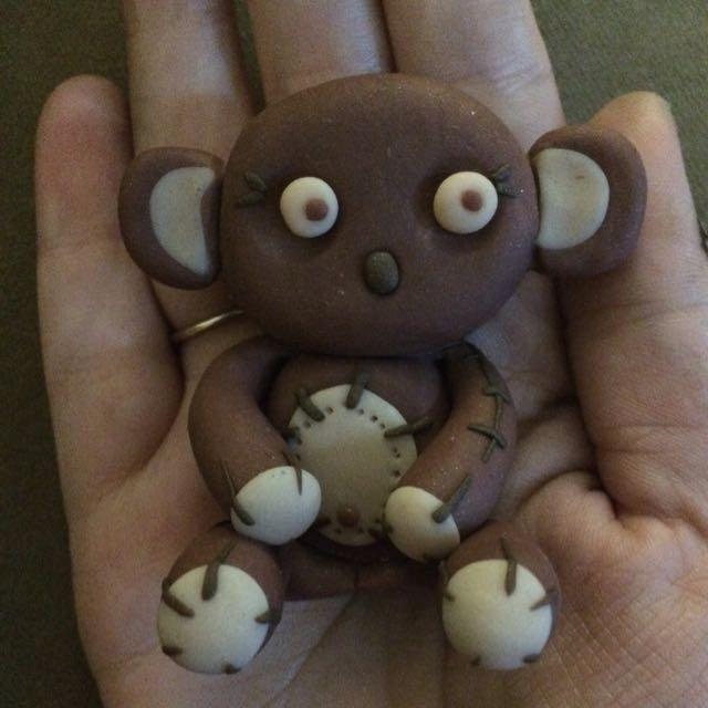Polymer Clay Koala/Teddy