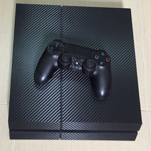 PS4  (500GB) With Games