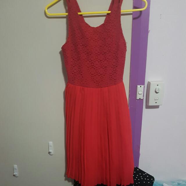 Pumpkin Patch Red Dress Size 11