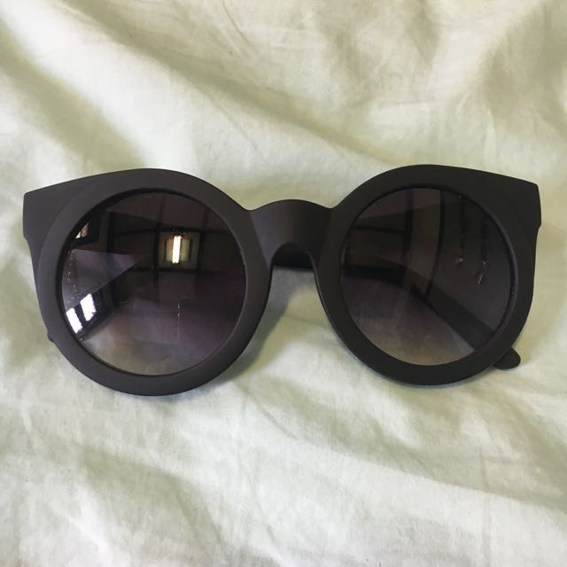 Quay Australia Black Sunglasses