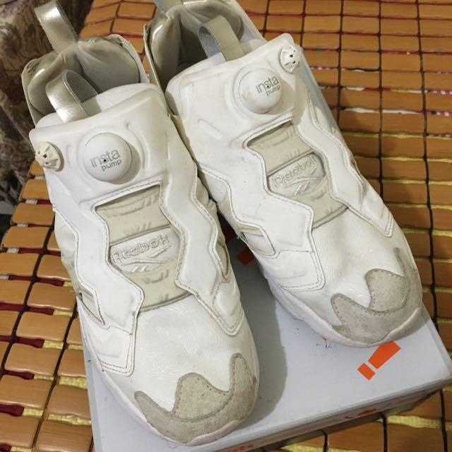 Reebox Pump白金款女鞋