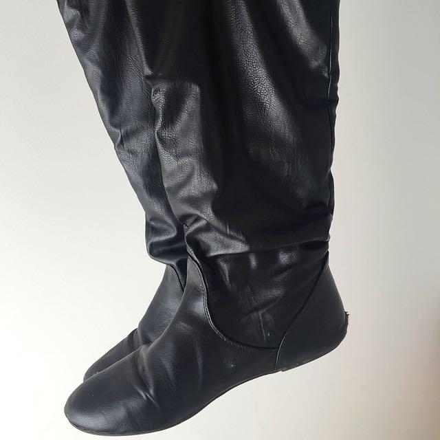 Size 10 Black Boots