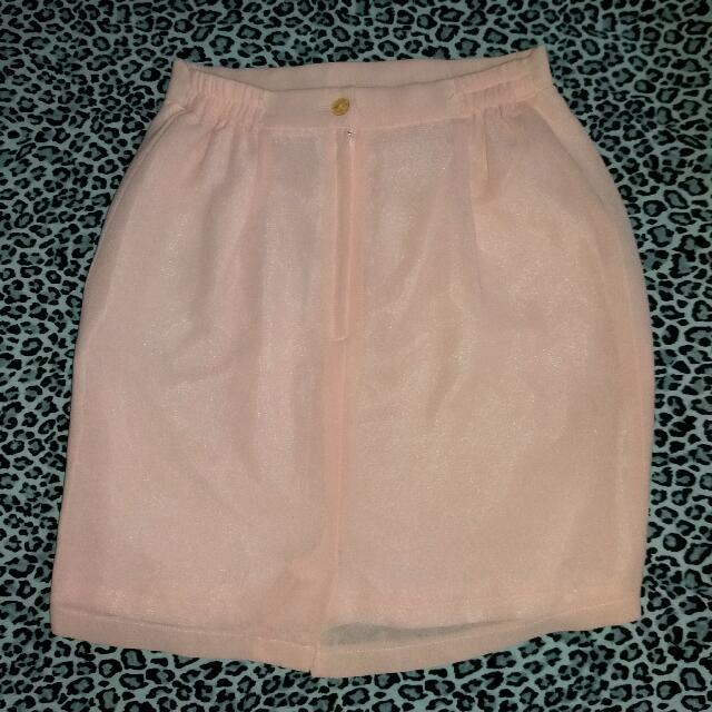 Mini Skirt SOFT PINK