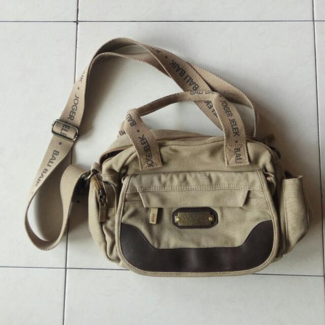 Slingbag JOGER BALI, Women's Fashion, Women's Bags & Wallets on Carousell