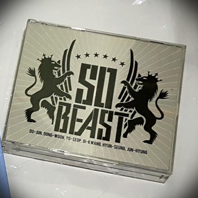 SO BEAST Japan Debut Album (2CDs)